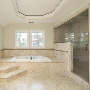 Natural Stone Floors - Aim Construction, Des Moines